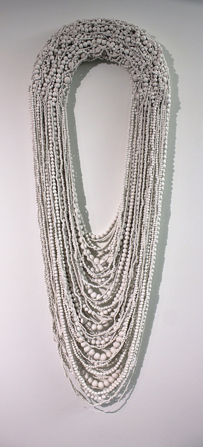 , 'Collar Blanco Grande XXVIII (Large White Necklace XXVIII),' 2013, Lisa Sette Gallery