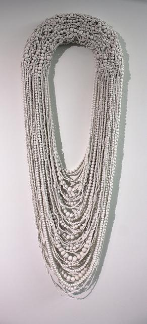 , 'Collar Blanco Grande XXVIII (Large White Necklace XXVIII),' 2013, Lisa Sette Gallery