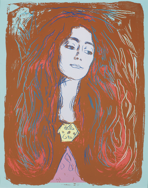 Andy Warhol, 'Eva Mudocci (After Munch)', 1984, HG Contemporary
