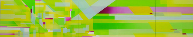 , 'Truce, Chartreuse,' 2017, Jonathan Ferrara Gallery
