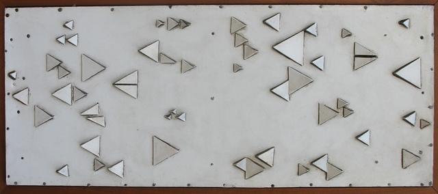 , 'Figuras con triángulos de madera,' 1983, Oscar Roman