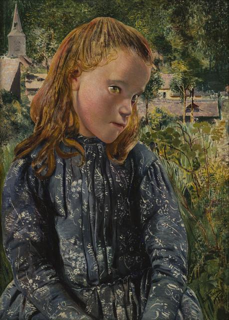 , 'La petite Ardennaise à la robe bleue (Young Ardennaise Girl in a Blue Dress),' 1896, Jack Kilgore & Co.