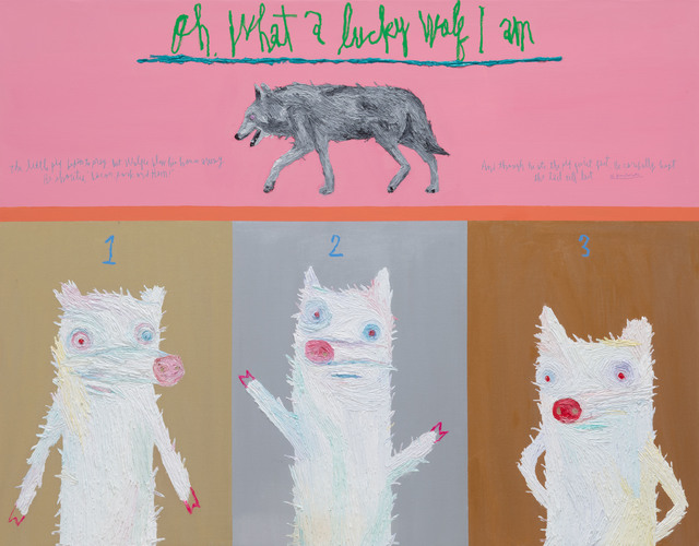, 'Three Little Pigs,' 2019, Gallery BK