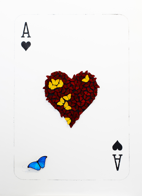 , 'The Ace of Hearts,' 2017, Eden Fine Art