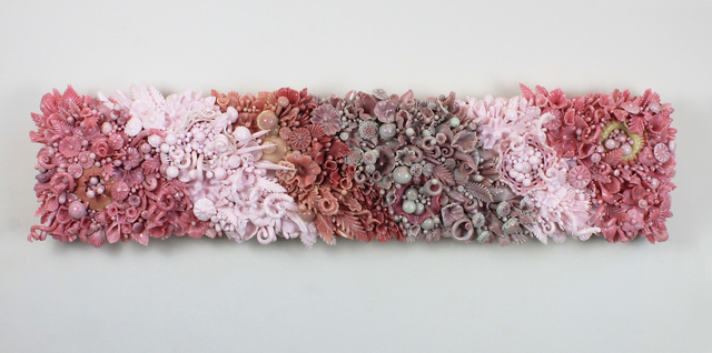 , 'ROSÉ OMBRÉ IN RIBBONS,' 2017, Heller Gallery