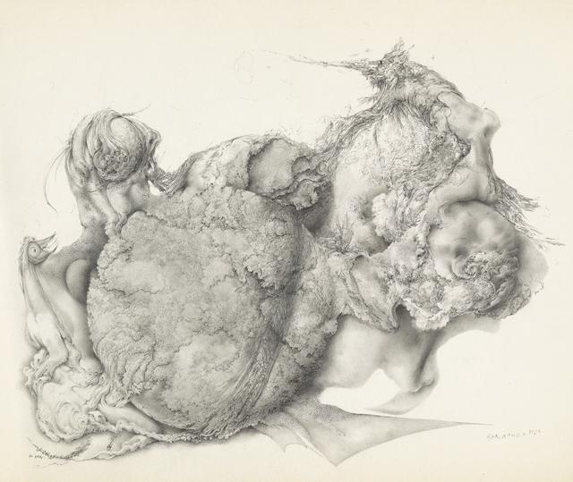 , 'Untitled [Botanical Globe with Emerging Life Forms],' 1960, Francis M. Naumann Fine Art