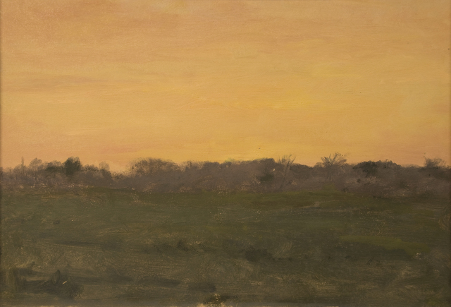 , 'Orange Sky Over Landscape,' ca. 1905, Sullivan Goss