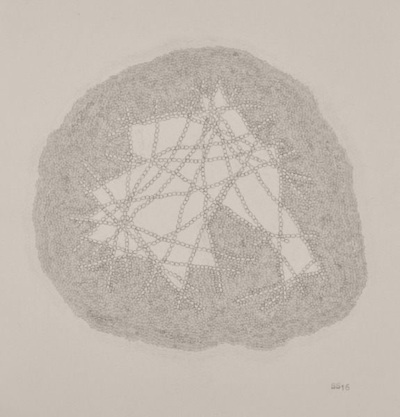 Stephanie Strange, 'lbs. Of Mountain', 2018, Drawing, Collage or other Work on Paper, Typewriter on paper, Wally Workman Gallery