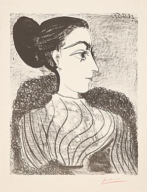 , 'Femme au chignon,' 1957, Galerie Boisseree
