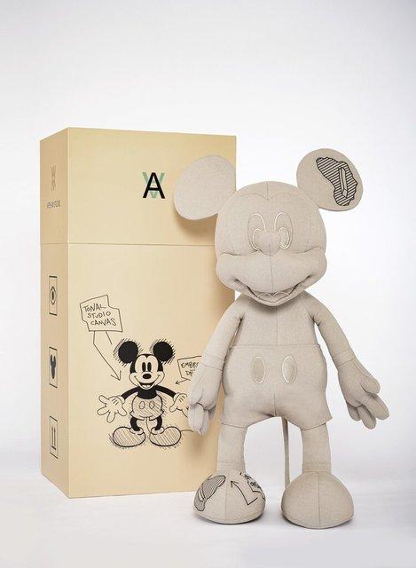 Daniel Arsham, 'Mickey Mouse Plush', 2019, Other, Plush, Mr Q. Gallery