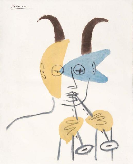 Pablo Picasso, 'Faune a La Diaule', 1956, Dawson Cole Fine Art