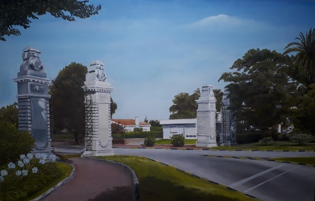, 'Portones de Carrasco,' 2019, ACCS Visual Arts