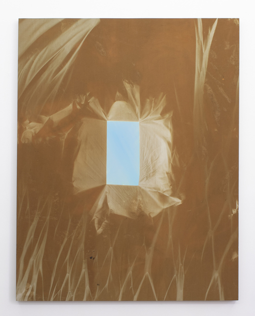 , 'Blue Cinderblock (Winter-Summer 2015) 6 Month Exposure,' 2015, Halsey McKay Gallery