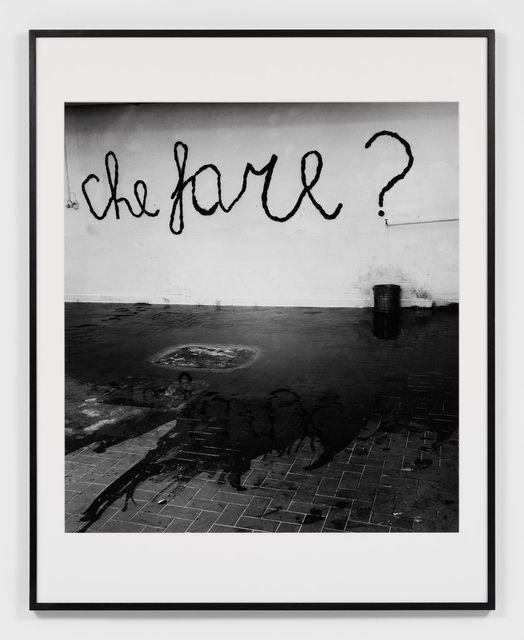 , 'Mario Merz. Che Fare?,' 1969, Almine Rech