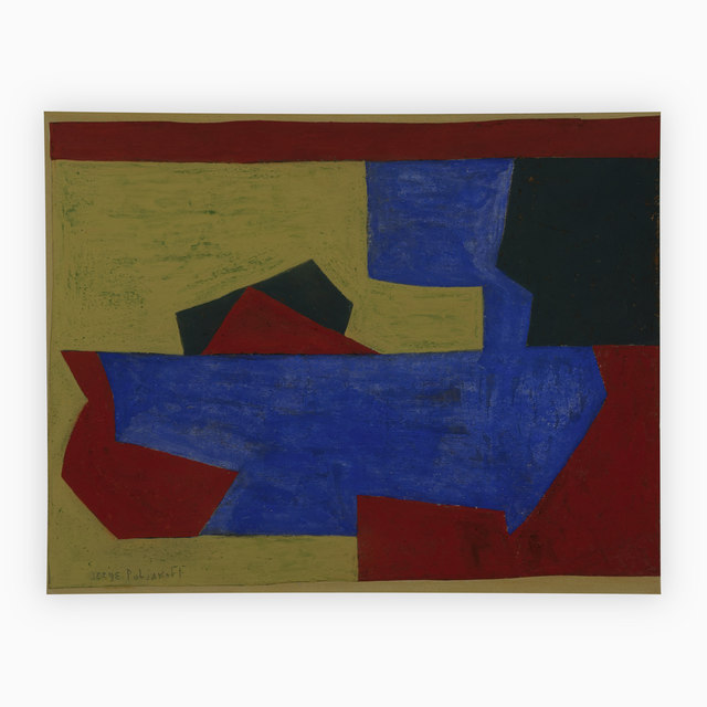 Serge Poliakoff, 'Composition No. C', 1952, Capsule Gallery Auction
