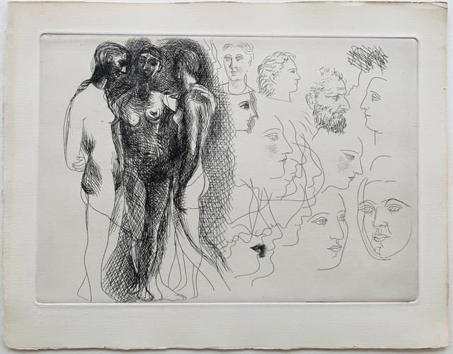 Pablo Picasso, 'Three Nudes standing', 1927-1928, Galerie Fetzer