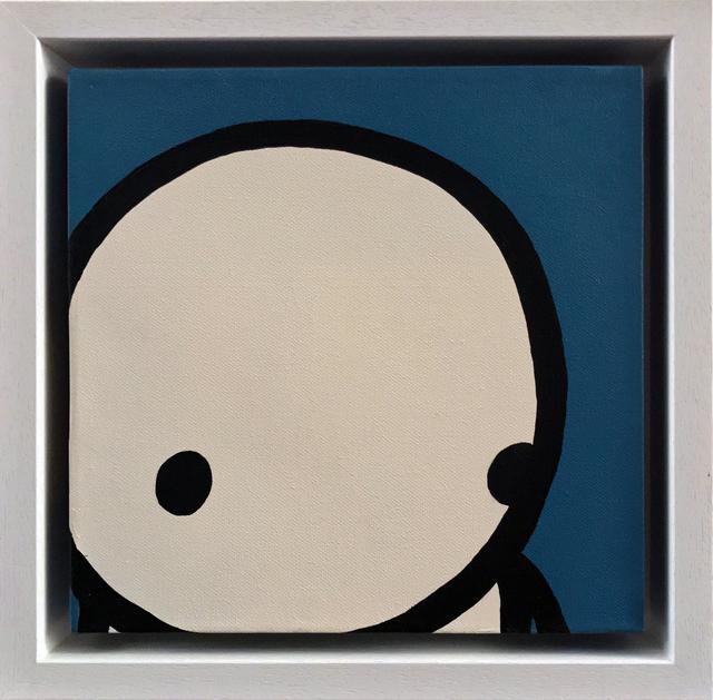 , 'Blue face Unique,' 2011, Galerie Kronsbein