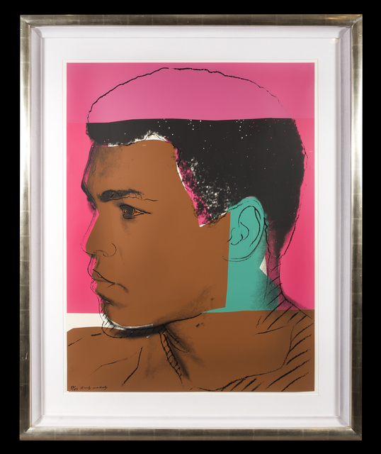 Andy Warhol, 'MUHAMMED ALI (Set of 4) (F. & S. II.179-182)', 1978, Trinity House Paintings