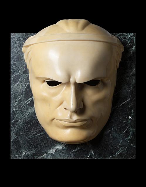 Adolfo Wildt, 'Maschera di Mussolini', 1923, Il Ponte