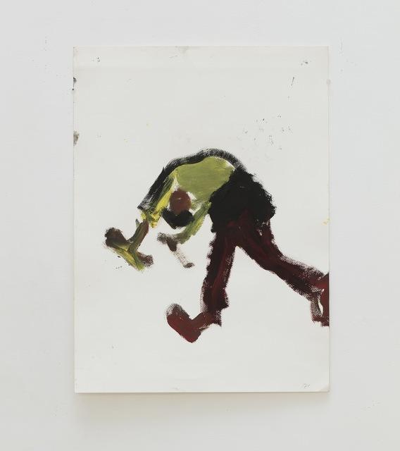 , 'Mathilde dansant  dans l'atelier,' 2017, Eric Dupont