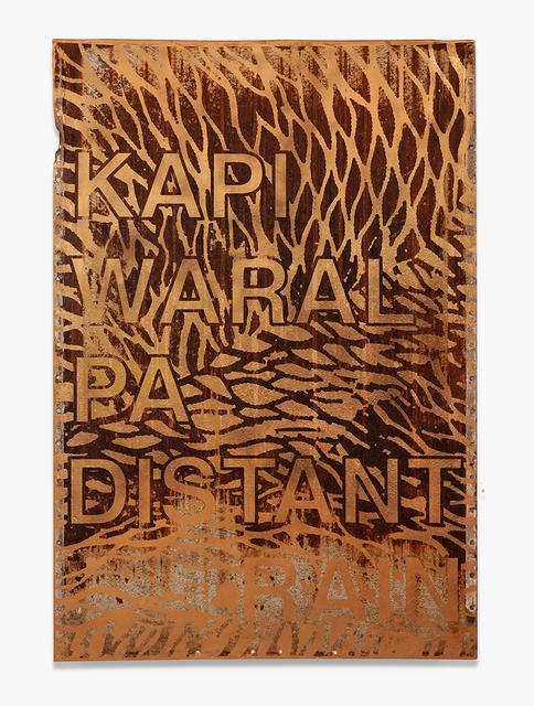 Robert Fielding, 'Kapi Waralpa', 2019, Blackartprojects