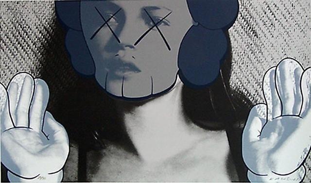 KAWS, 'Kate Moss White Gloves', 2001, Carmichael Gallery