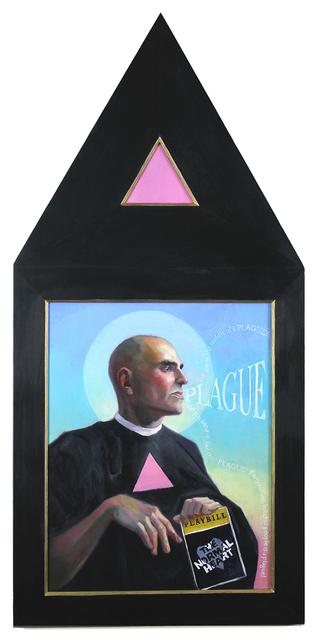, 'Larry Kramer (Plague!),' 2019, Carrie Haddad Gallery