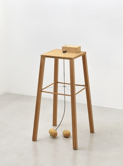 Sigmar Polke, 'Apparat, mit dem eine Kartoffel eine andere umkreisen kann', 1969, Sies + Höke