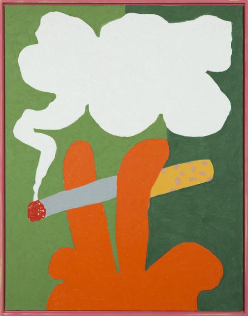 , 'Cigarette,' 2017, Ninasagt