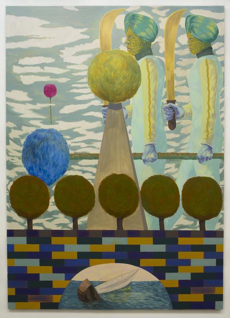 , 'Resultant Force (Cutlass),' 2018, Zevitas Marcus