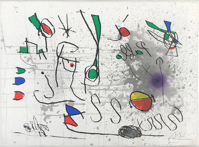 Joan Miró, 'UNTITLED (FROM HOMAGE TO PICASSO)', 1972-1973, Gallery Art