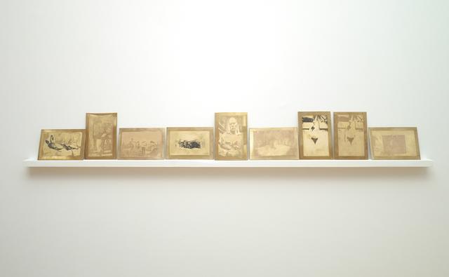 , 'Morsura in ottone,' 2013, SPROVIERI