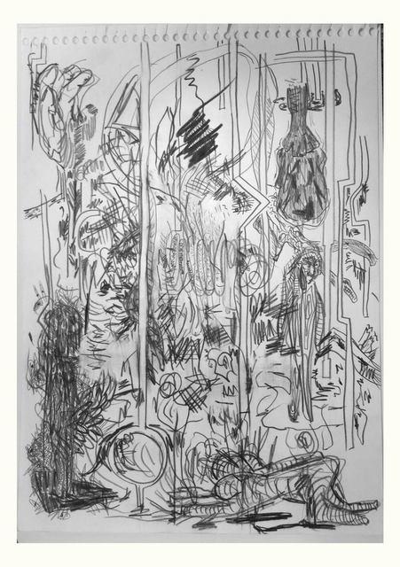 , 'Sin título (todos lados),' 2014, Nora Fisch