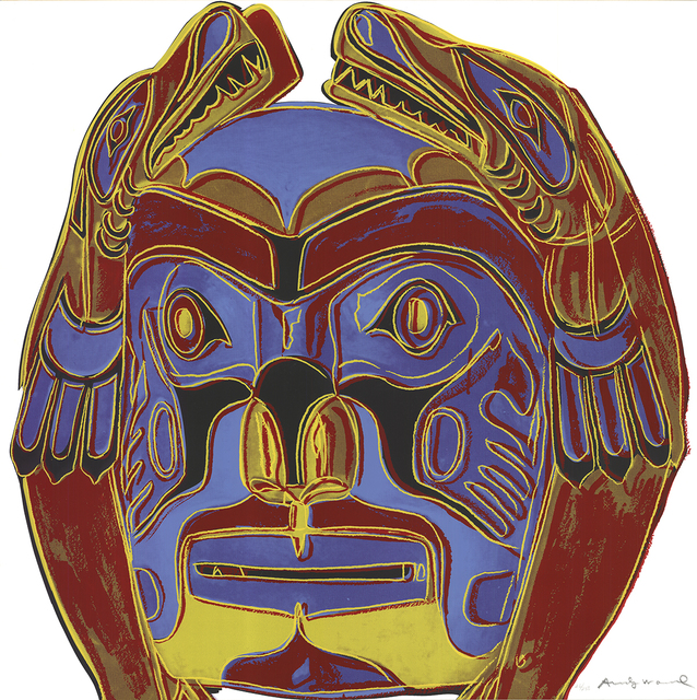 Andy Warhol, 'Northwest Coast Mask', 1986, Print, Serigraph, ArtWise