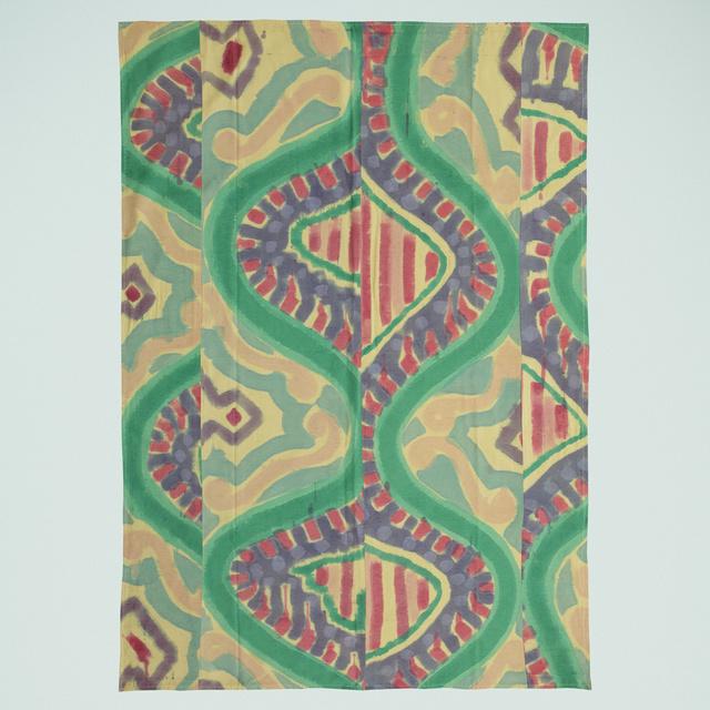 Kim MacConnel, 'Straight Turkey', c. 1975, Textile Arts, Dyed cotton cloth, Rago/Wright