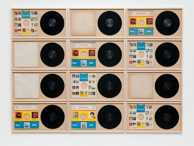 , 'RCA - da série Discos Vazios,' 2013 / 2014, Galería Vermelho