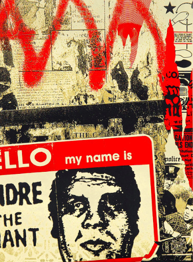 Shepard Fairey (OBEY), 'Hello My Name Is', 2019, New Union Gallery