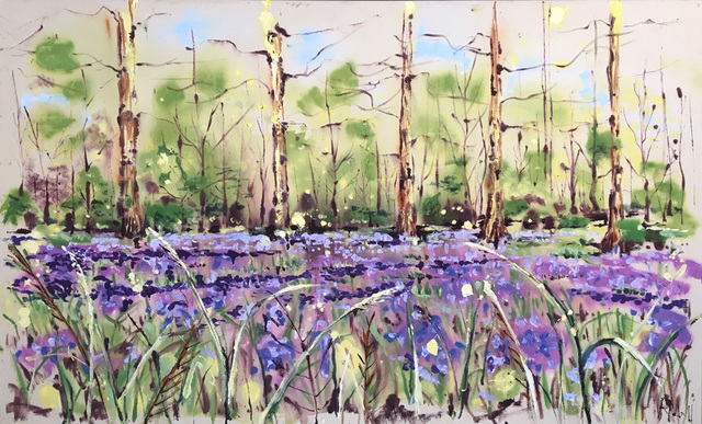 , 'Carpet of bluebells,' 2019, Capital Culture Gallery
