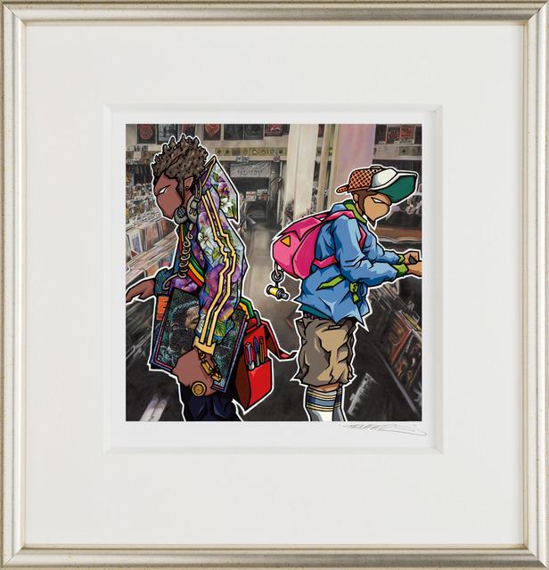 Temper, 'Overshadowed Intro', 2014, Castle Fine Art