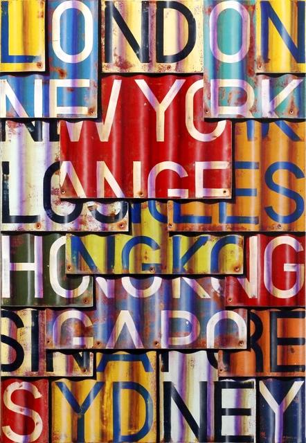 , 'LHR-LAX-SYD,' 2016, Artspace Warehouse