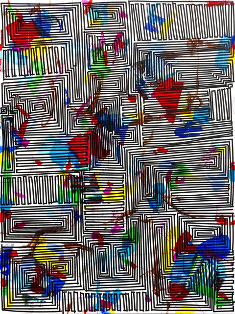 , 'Freestyle (Maze),' 2014, Newzones