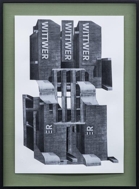 , 'Wittwer,' 2014, Galerie Pfab