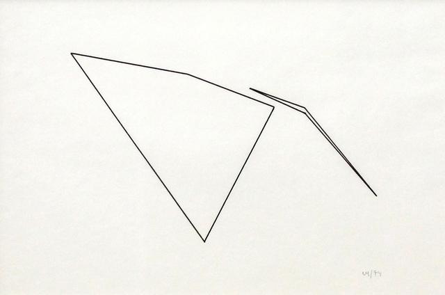 Vera Molnar, 'Trapeze ', 1974, DAM Gallery