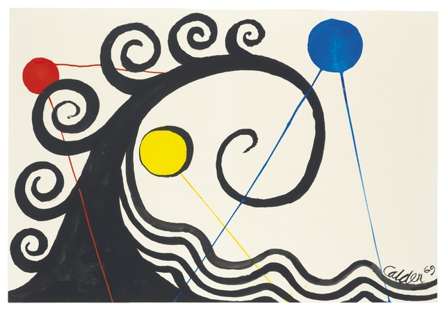 , 'Curly Waves,' 1969, Omer Tiroche Gallery
