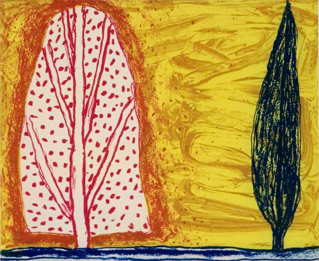 William Crozier, 'Two Trees', 2006, Flowers