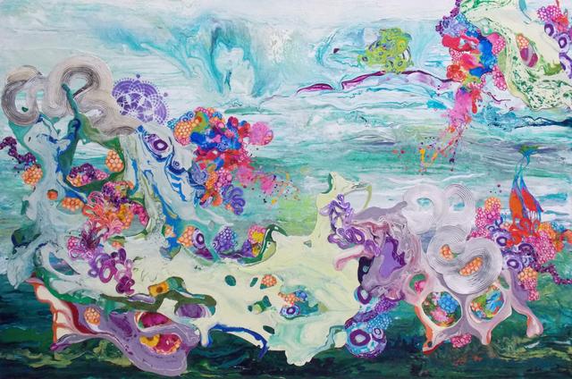 Kimber Berry, 'Painting Flowers in the Desert', 2014, New Gallery of Modern Art