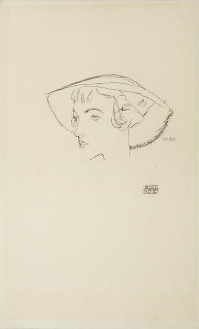 , 'Poldi,' 1914, W&K - Wienerroither & Kohlbacher