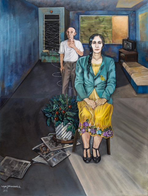 , 'Mother and Son,' 2015, Kamil Art Gallery