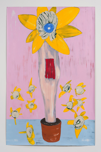 Nicola Tyson, 'Flowerpot', 2013, Susanne Vielmetter Los Angeles Projects