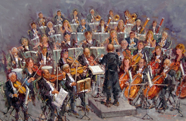 , 'Orchestra,' , Hazelton Fine Art Galleries